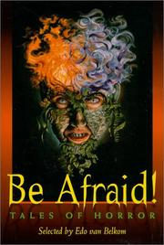 Cover of: Be afraid!