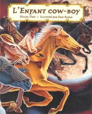 Cover of: L'Enfant Cowboy
