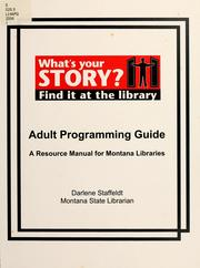 Adult programming guide by Sara J. Groves