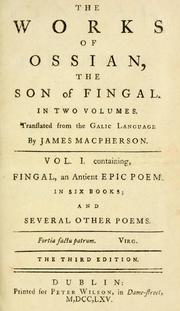 Cover of: Fingal