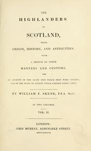 Cover of: The Highlanders of Scotland