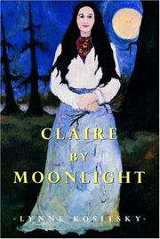 Cover of: Claire by Moonlight