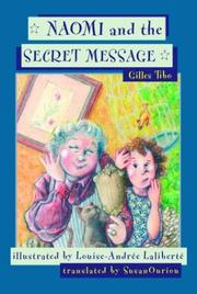 Cover of: Naomi and the Secret Message