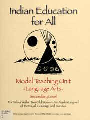 Cover of: Model teaching unit