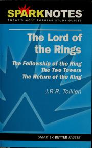 Cover of: The lord of the rings, J.R.R. Tolkien | Patrick Gardner