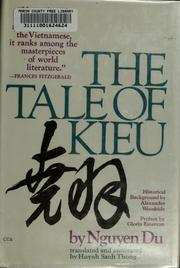 Cover of: The tale of Kieu