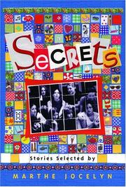 Cover of: Secrets: Stories Selected by Marthe Jocelyn