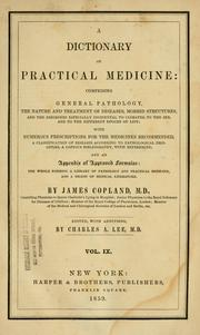 Cover of: A dictionary of practical medicine