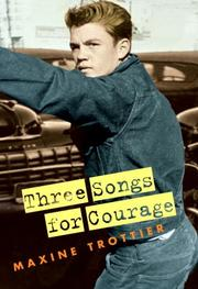 Cover of: Three Songs for Courage
