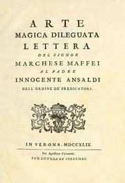 Cover of: Arte magica dileguata