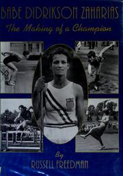 Cover of: Babe Didrikson Zaharias