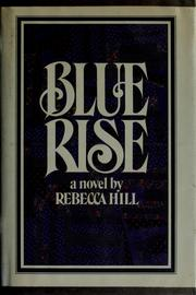 Cover of: Blue Rise | Rebecca Hill