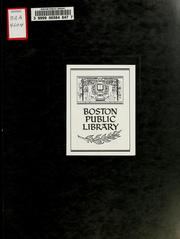 Cover of: Boston urban wilds survey