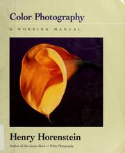Cover of: Color photography