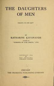 Cover of: The daughters of men | Katharine Kavanaugh