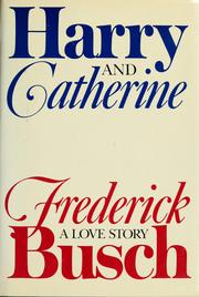 Cover of: Harry and Catherine