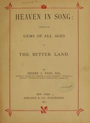 Cover of: Heaven in song...