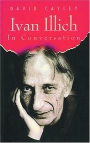 Cover of: Ivan Illich in conversation