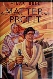 Cover of: A matter of profit