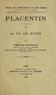 Cover of: Placentin