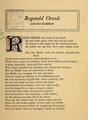 Cover of: Regenald Orook and the goldfish ... | Osie Bradford Fox
