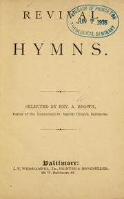 Cover of: Revival hymns