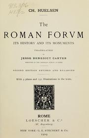 Cover of: The Roman forum | Christian HГјlsen