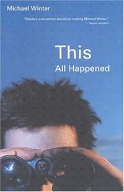 Cover of: This all happened
