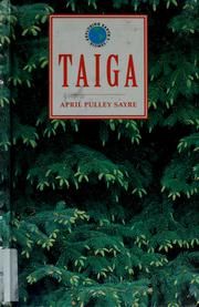 Cover of: Taiga | April Pulley Sayre