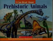 Cover of: I can read about prehistoric animals