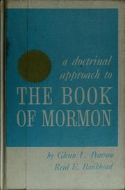 Cover of: Doctrinal approach to the Book of Mormon