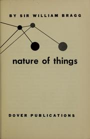 Cover of: Concerning the nature of things
