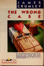 Cover of: The wrong case | James Crumley