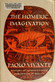 Cover of: The Homeric imagination