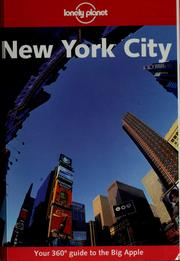 Cover of: New York city | Conner Gorry
