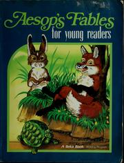 Cover of: Aesop's fables for young readers
