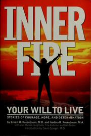 Cover of: Inner fire | Ernest H. Rosenbaum