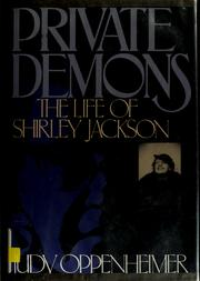 Cover of: Private demons | Judy Oppenheimer