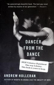 Cover of: Dancer from the dance