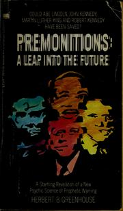 Cover of: Premonitions