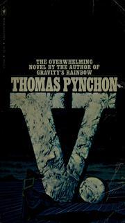 Cover of: V. | Thomas Pynchon