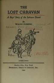Cover of: The lost caravan | Waldo Fleming