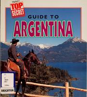 Cover of: Guide to Argentina | Marion Morrison