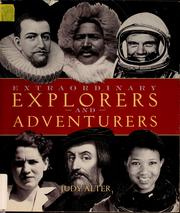Cover of: Extraordinary explorers and adventurers