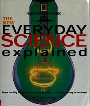 Cover of: The new everyday science explained