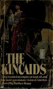 Cover of: The Kincaids | Matthew Braun