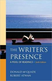 Cover of: Writer's presence