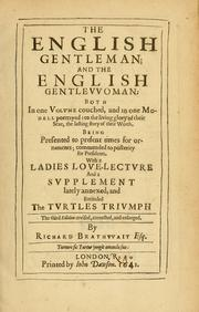 Cover of: The English gentleman; ; and The English gentlewoman