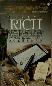 Cover of: Living rich