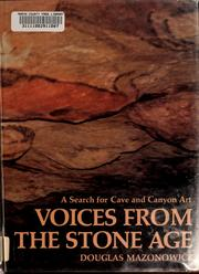Cover of: Voices from the stone age | Douglas Mazonowicz